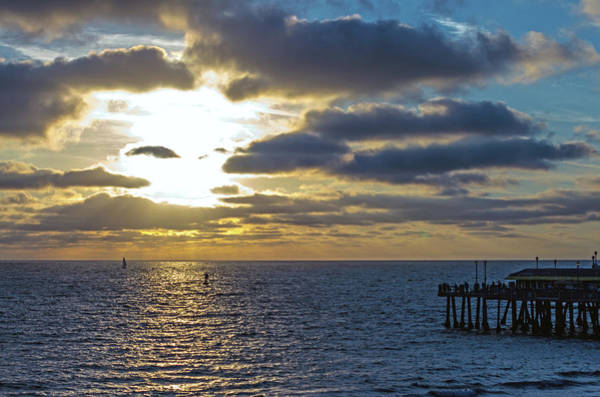 Photograph - Sunset At Redondo by Ed Clark