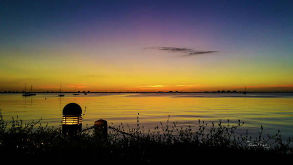 Photograph - Sunset At Ringling Mansion 2 by Susan Molnar