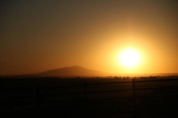 Photograph - Sunset At Roswell New Mexico  by Ryan Crouse