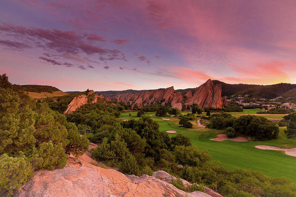 Copyright Wall Art - Photograph - Sunset At Roxborough State Park by Bridget Calip
