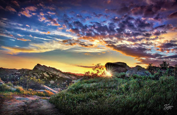 Photograph - Sunset At Sage Ranch by Endre Balogh