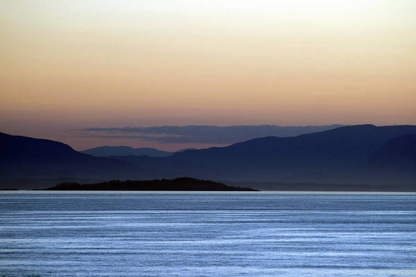 Photograph - Sunset At Sea 2 by James Reed
