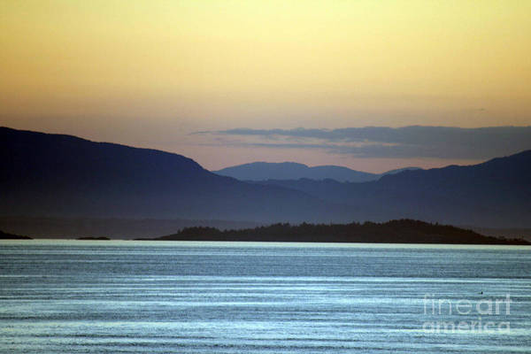 Photograph - Sunset At Sea by James Reed
