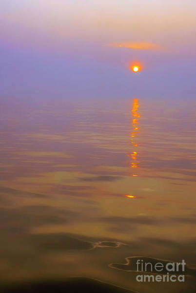 Photograph - Sunset At Sea by Thomas R Fletcher