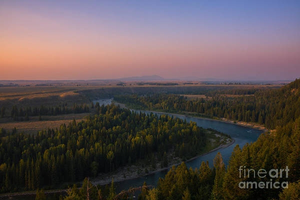 Wall Art - Photograph - Sunset At Snake River by Michael Ver Sprill