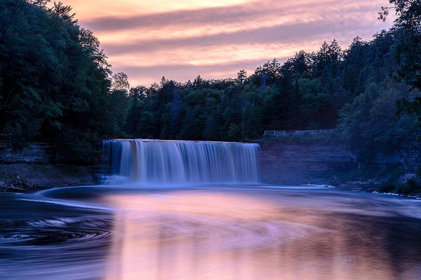 Photograph - Sunset At Tahquamenon 2 by Greg Russell