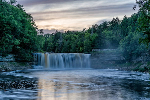 Photograph - Sunset At Tahquamenon by Greg Russell