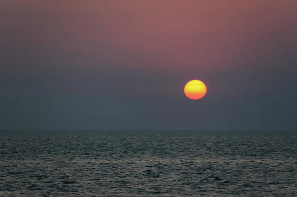Photograph - Sunset At The Beach Cape May Nj by Terry DeLuco