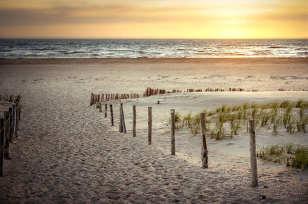 Photograph - Sunset At The Beach by Hannes Cmarits