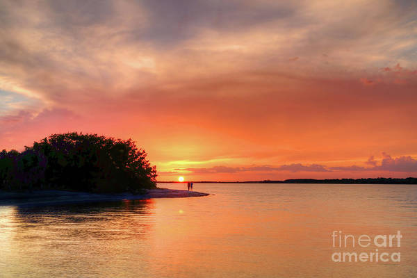 Wall Art - Photograph - Sunset At The Beach by Rick Mann
