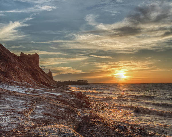 Photograph - Sunset At The Bluffs by Rod Best