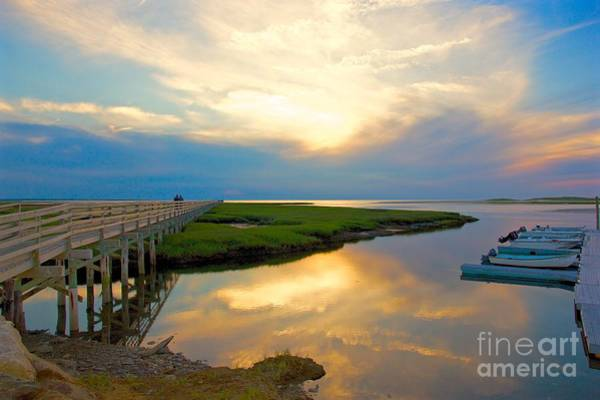 Photograph - Sunset At The Boardwalk by Amazing Jules