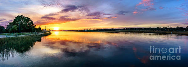 Photograph - Sunset At The Boat Ramp by David Smith