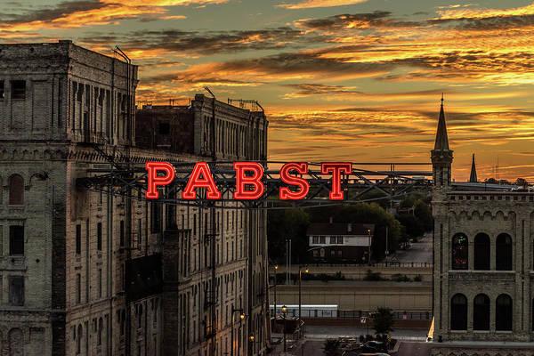 Photograph - Sunset At The Brewery by Randy Scherkenbach