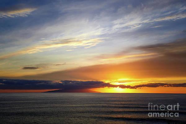 La Gomera Wall Art - Photograph - Sunset At The Canary Island La Palma by Juergen Klust