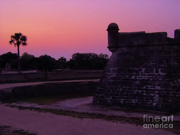 Photograph - Sunset At The Castillo by D Hackett
