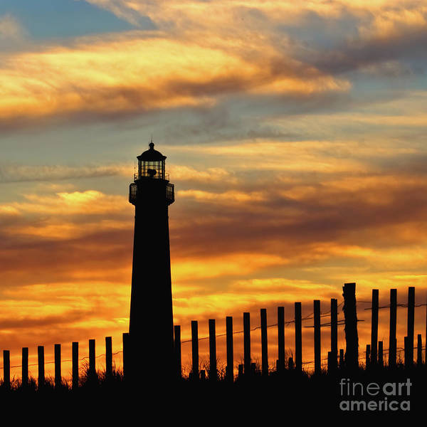 Photograph - Sunset At The Lighthouse by Nick Zelinsky