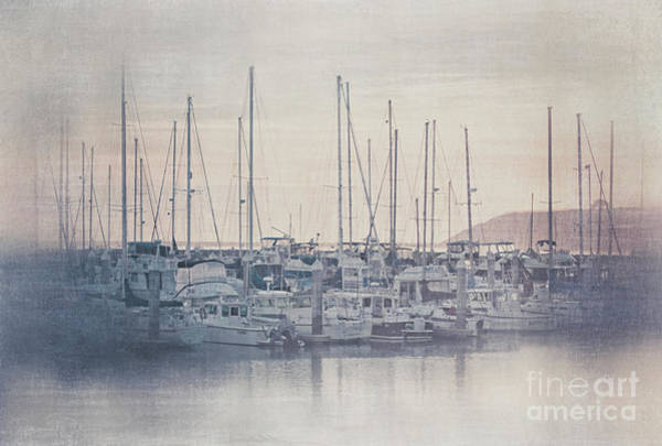Photograph - Sunset At The Marina by Teresa Wilson