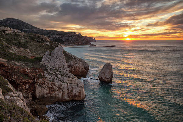 Photograph - Sunset At The Nest Of The Eagle by Daniele Fanni
