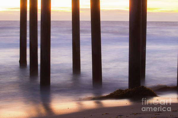 Photograph - Sunset At The Pier  by Vincent Bonafede