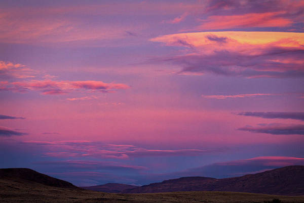 Photograph - Sunset At The Ranch #7 - Patagonia by Stuart Litoff