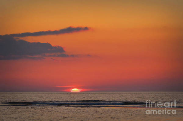Photograph - Sunset At The Sea by Angela Doelling AD DESIGN Photo and PhotoArt