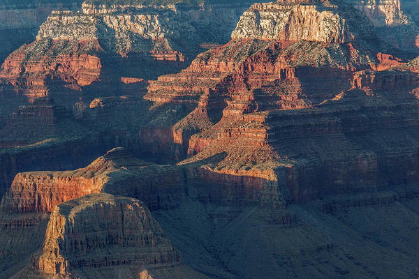 Photograph -  Sunset At The South Rim, Grand Canyon by Pete Hendley