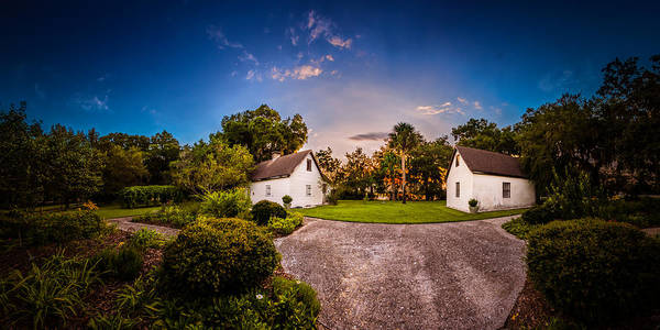 Photograph - Sunset At The Tabby Slave Quarters by Chris Bordeleau