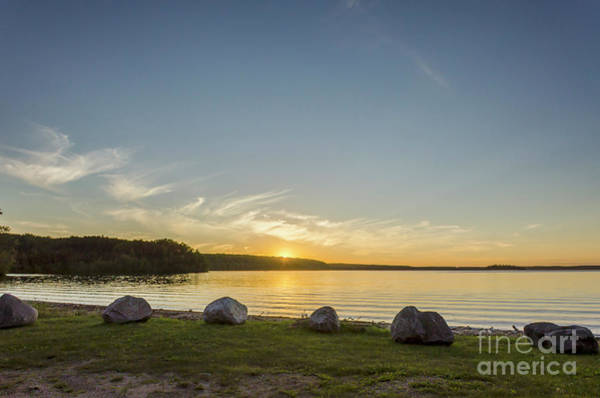 Waskesiu Photograph - Sunset At The Waskesiu  by Viktor Birkus