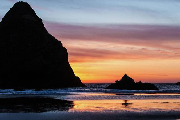 Photograph - Sunset At Whalehead Beach by Jim Adams
