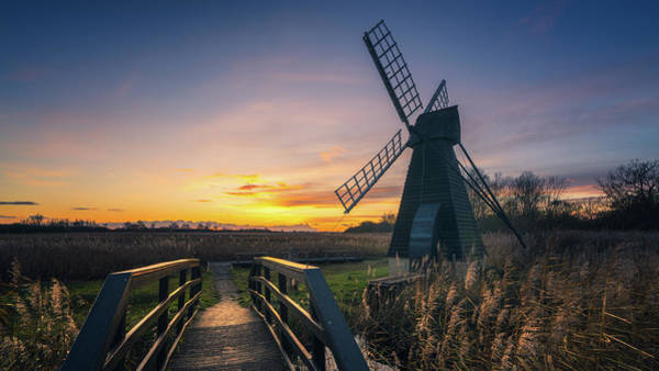 Photograph - Sunset At Wicken Fen by James Billings