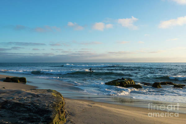 Photograph - Sunset At Windansea Beach by David Levin