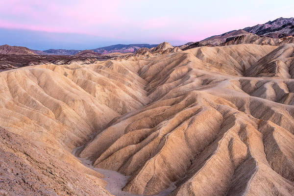 Photograph - Sunset At Zabriskie by Rick Wicker