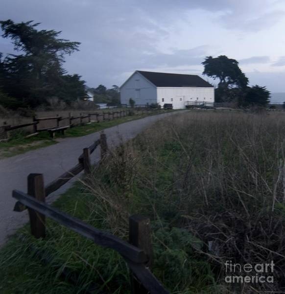 Photograph - Sunset Barn By The  Pacific by Norman Andrus