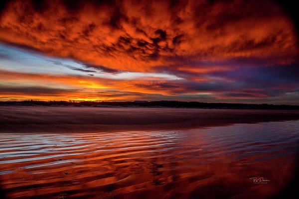 Photograph - Sunset Beach 5 by Bill Posner