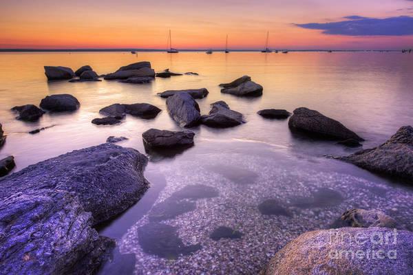 Narragansett Photograph - Sunset Beach by Juli Scalzi