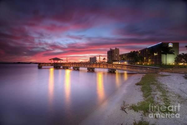 Wall Art - Photograph - Sunset Beach by Rick Mann