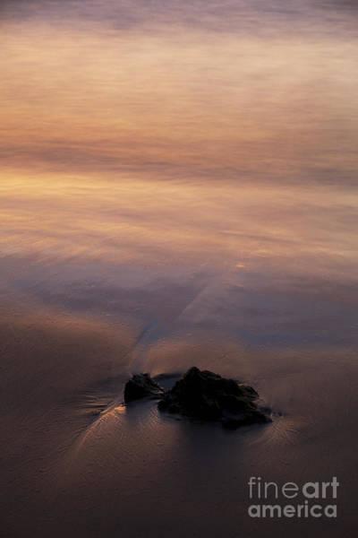 Photograph - Sunset Beach Rock by Charmian Vistaunet
