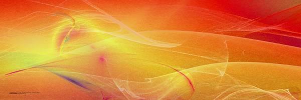 Digital Art - Sunset Beach by Wally Boggus