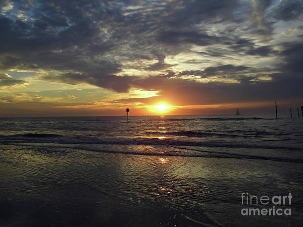 Photograph - Sunset Beauty At Clearwater by D Hackett