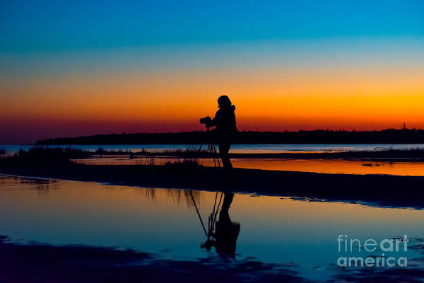 Photograph - Sunset Beauty by Les Palenik