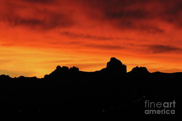 Wall Art - Photograph - Sunset Blaze by Rick Mann