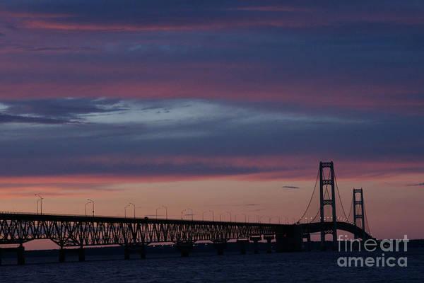 Photograph - Sunset Bridge by Linda Shafer