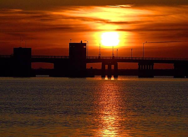Photograph - Sunset Bridge by  Newwwman