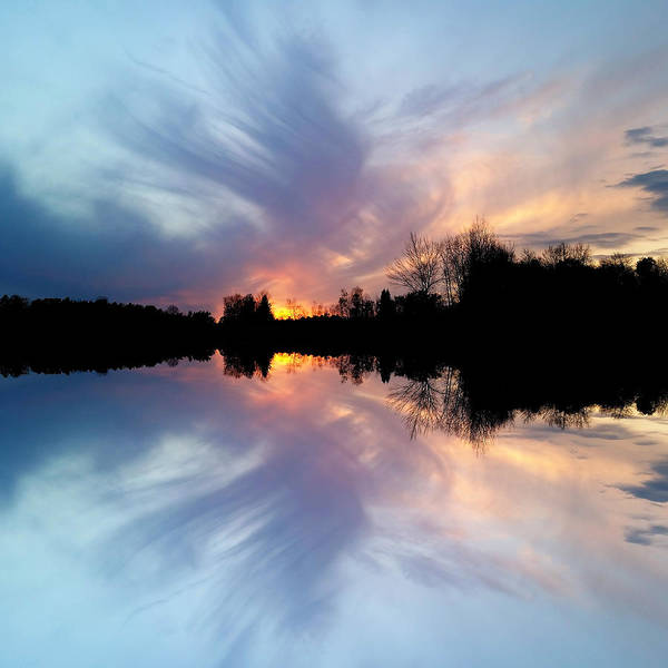Photograph - Sunset Brushstrokes by Christina VanGinkel