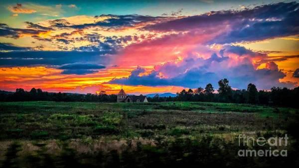 Photograph - Sunset Burst by Buddy Morrison