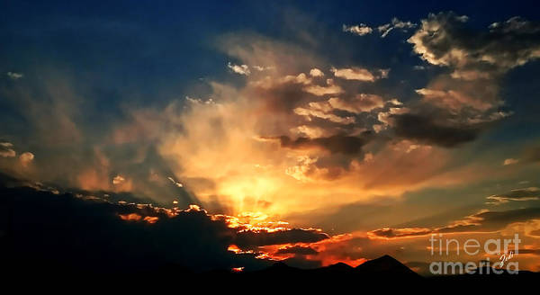 Tramonto Photograph - Sunset Of The End Of June by Zedi