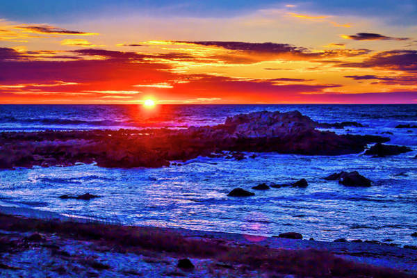 Wall Art - Photograph - Sunset Carmel By The Sea by Garry Gay