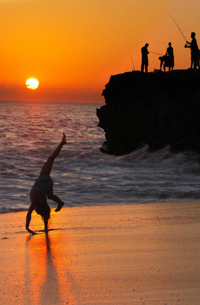 Photograph - Sunset Cartwheel by Jill Reger