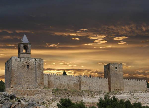 Wall Art - Digital Art - Sunset Castle by Alynne Landers